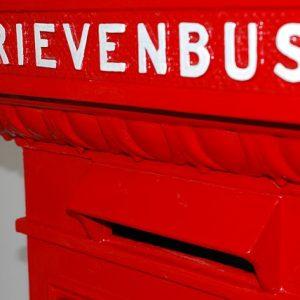 brievenbus geleegd