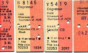 trein kaartje