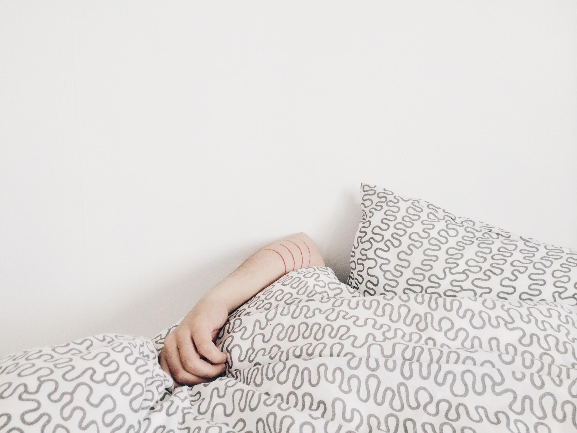 over slapen